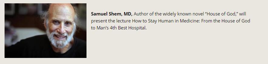 Samuel Shem, MD